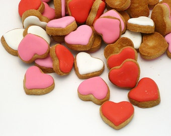 Decorated Cookies - 1 pound - Hearts