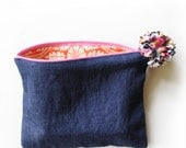Denim Sundry Bag