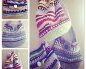 3 crochet bags - pattern instant digital download