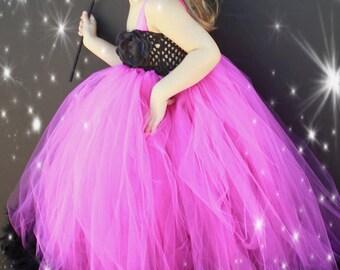 Masquerade  - Prima Donna Couture Feather Tutu Dress 2t, 3t, 4t, 5t, 6