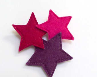 three stars brooch
