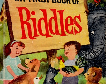 My First Book of Riddles by Janet and Alex D'Amato