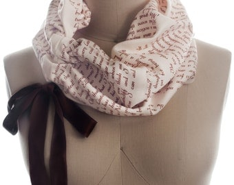 Wuthering Heights Light Weight Summer Book Scarf