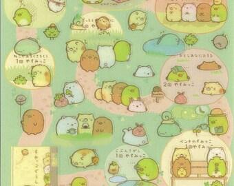 Kawaii Japan Sticker Sheet Assort: Sumikko Gurashi Character Road Trip Clover Spring Outing Charming Original Characters R