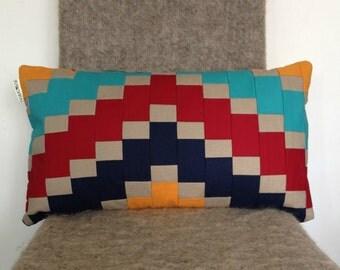 Mosaic Cushion Cover Patchwork modern
