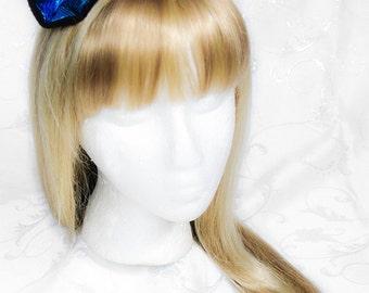Anime Pony Kitty Fleece Clip on Ears - Scottish & Checkered Punk