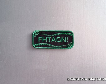 Cthulhu *FHTAGN!*sew on Patch