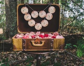 We Eloped Sign, Cards Wedding Sign, Wedding Signage, Bride and Groom Signs, Reception Decor,