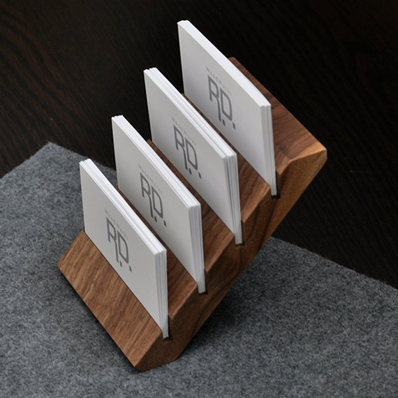 Multiple Business Card Holder Tier Business Card by