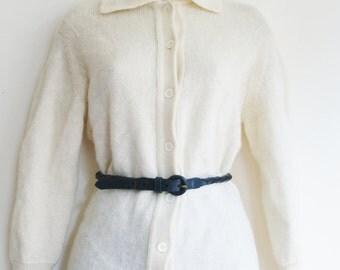 Vintage Knitted Wool Cardigan