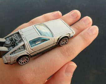 My Car Ring - Back To The Future Time Machine