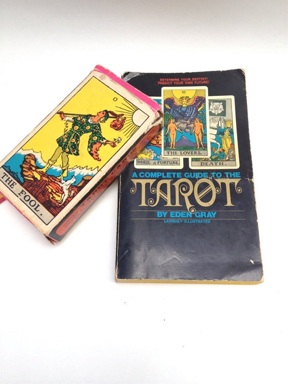 Complete Set Of Tarot Cards And Instruction Book. Colman