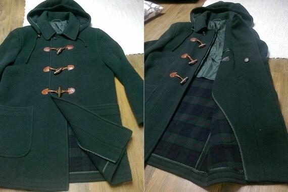 Dark Green Duffle Coat