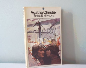 Vintage book Agatha Christie Peril at End House