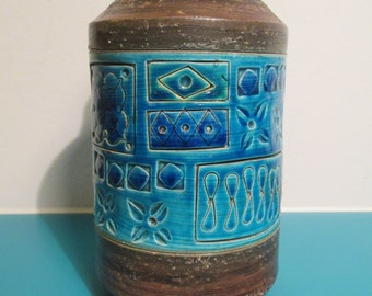 Midcentury Bitossi ceramic lamp base - by Aldo Londi