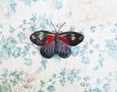 Handmade Butterfly Magnet
