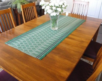Charmant ... Purple Leaf Green Runner Handwoven Runner Striped Cotton Table Green  Runner, And Table Green ...