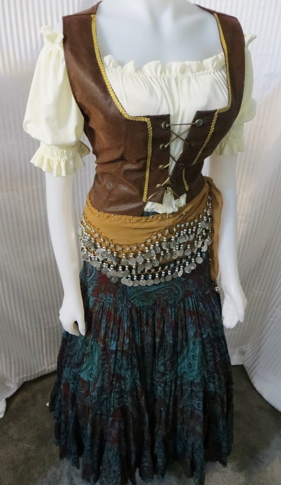 Renaissance Rustic Gypsy Costume From Fashion Rules On Etsy