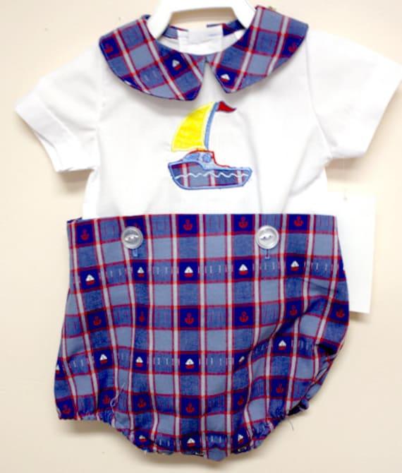 Baby Boy Nautical Baby Sailor Outfit Baby Boy Clothes