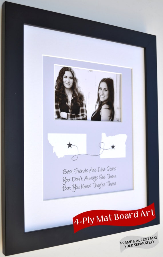 Gifts For Best Friends Any Custom Designed Art Color Good