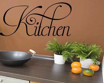 Kitchen Vinyl Decal Sticker Kitchen Wall Decal (466)