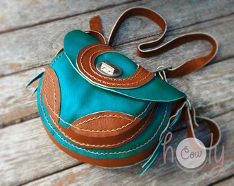 Turquoise Leather Shoulder Bag, Leather Shoulder Bag, Bag, Leather Bag, Tribal Bag, Ethnic Bag, Shoulder Bag, Bag, Ethnic Bags, Hippie Bag