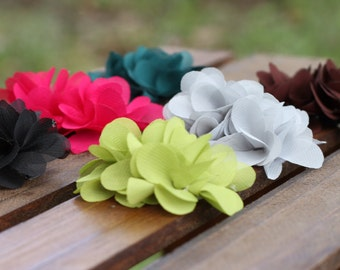 """READY TO SHIP!  2"""" Hair Flower Clips {6 Colors Available!!}"""