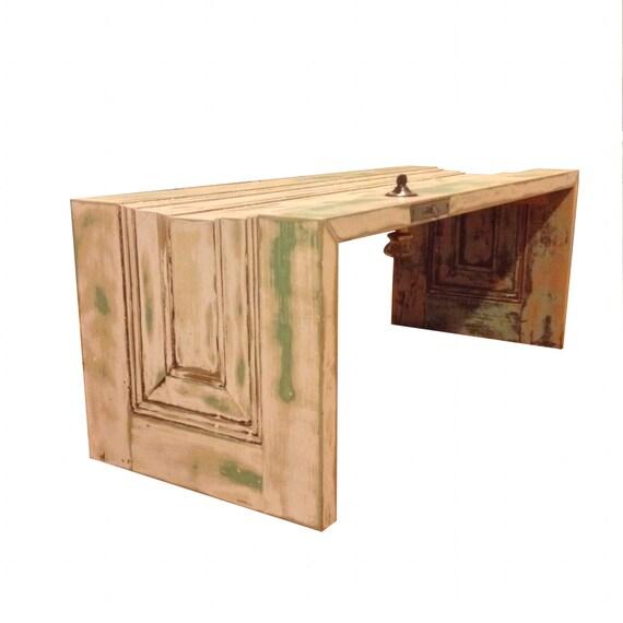 Vintage Reclaimed Door Coffee Table