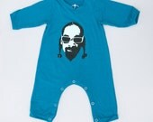 Sale 50% Off - Snoop Dogg baby long sleeve bodysuit, long sleeves onesie, newborn winter clothing, clothes for babies, baby shower gifts