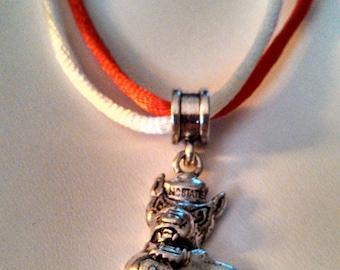 North Carolina State University Necklace with NCSU Charm