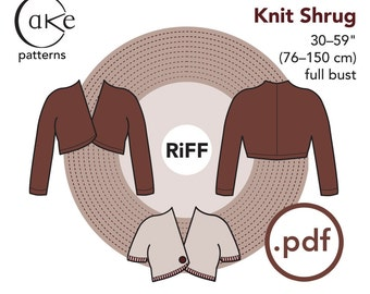 pdf Cocoa Knit Shrug Cake Patterns RiFF Nº3333