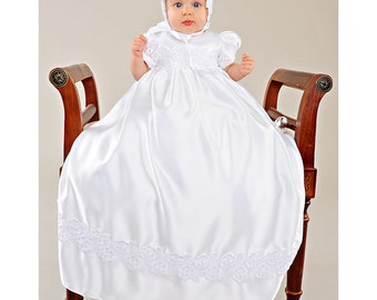 Olivia LDS Blessing Baptism Christening Gown