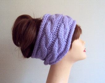 Winter Headband Earwarmer Cable Knit Wide Headband Yoga Headband Fitness Headband Running Headband Hair Accessories