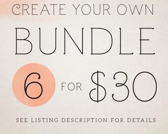 Custom templates bundle - 6 cards or facebook timelines for 30 dollars LIMITED TIME OFFER