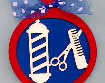 Barbers Ornament