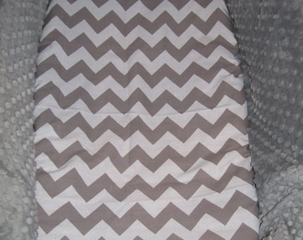 Chevron Bassinet Sheets