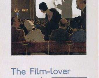 The Film Lover Movie Film Poster Print -   London Underground 1920s