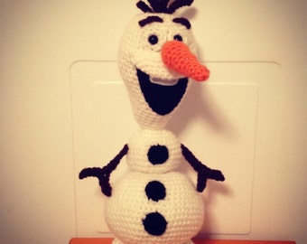 Crochet Olaf the Snowman - PDF Pattern - Amigurumi - from Disney Movie Frozen
