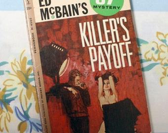 Killer's Payoff, 1962 Ed McBain Novel