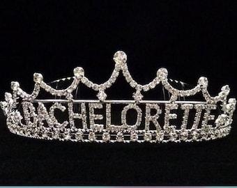 Bachelorette #60395  Rhinestone Tiara