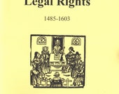 Stuart Press Living History Series:  Tudor Women's Legal Rights (1485-1603) Reference Book