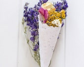 WILDFLOWER PETAL CONES - ...