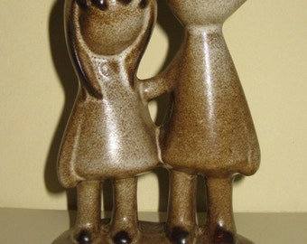 Howard Pierce Best Friends Boy & Girl Figurine