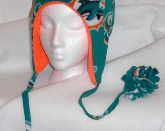 Miami Dolphins Polar Fleece Bomber Hat