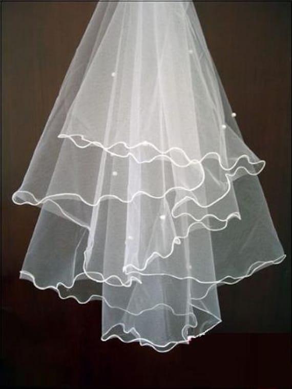 wedding veil ivory white diamond white champagne bridal veils