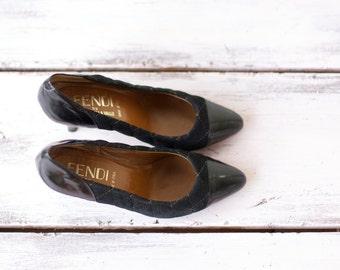 Vintage 1980s Fendi heels