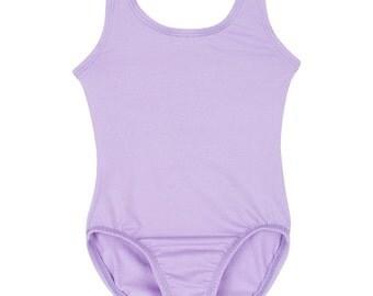 LILAC/ PURPLE Toddler & Girls Ballet - Gymnastics Sleeveless Tank Leotard