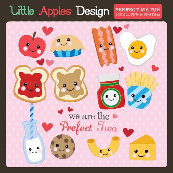 ... Art / Valentine Clip Art / Love Clipart / Milk to my Cookie clipart