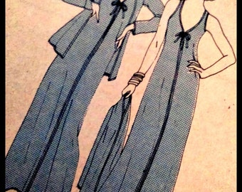 Very Rare Vogue Pattern 9633  Misses' Dress And Jacket  Size 14 & 10  UNCUT