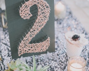 String Table Number